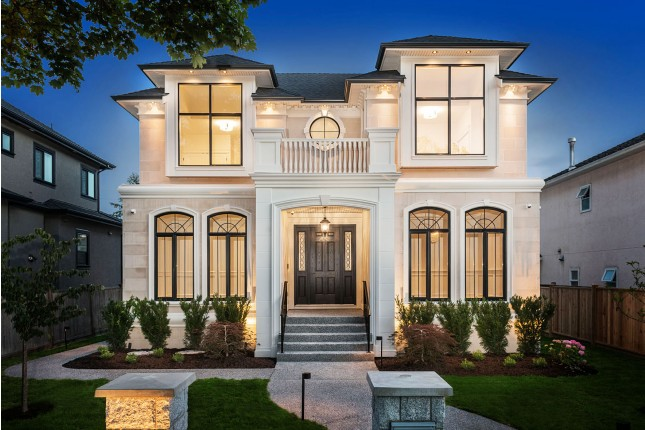 Custom Built vancouver home