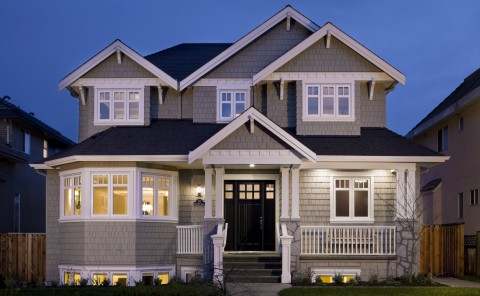 Custom Built Home Vancouver W26th Exterior