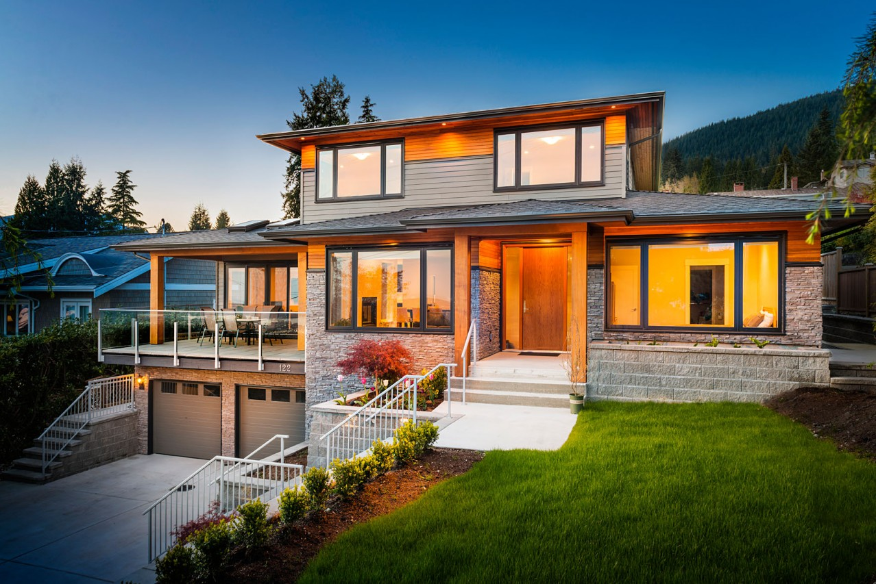 Upper Lonsdale Custom Home North Vancouver
