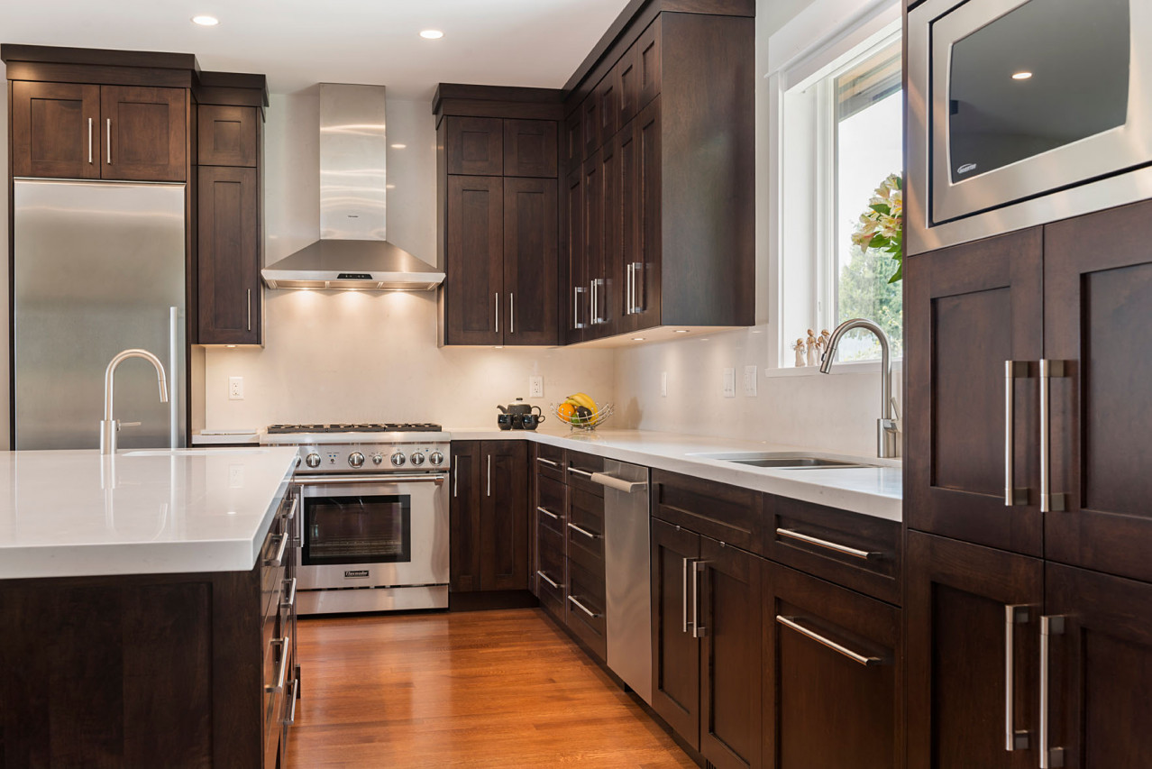 Upper Lonsdale Custom Home North Vancouver Kitchen