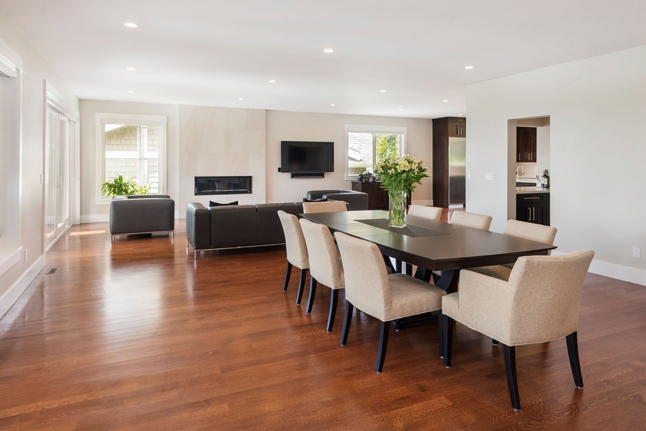 Upper Lonsdale Custom Home North Vancouver Dining Room