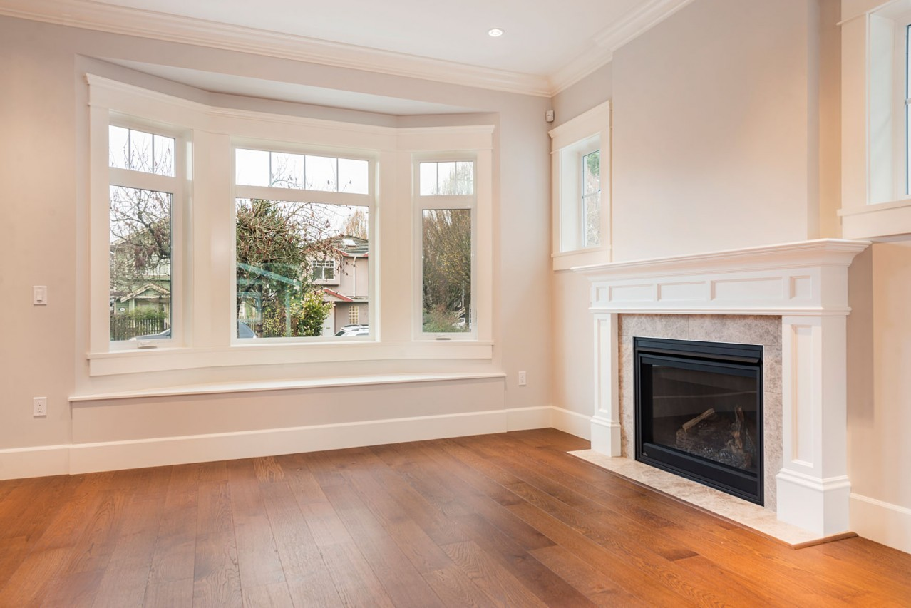 Mount Pleasant, Vancouver Custom Home Fireplace