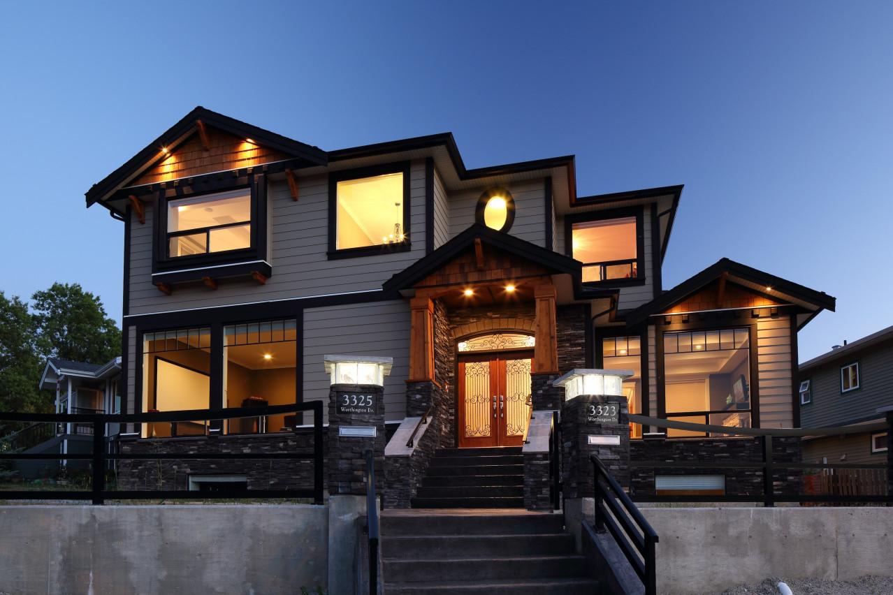 Worthington Street, Vancouver Custom Built Home - Wallmark Custom ...