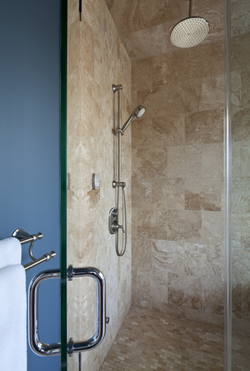 Custom built vancouver home shower