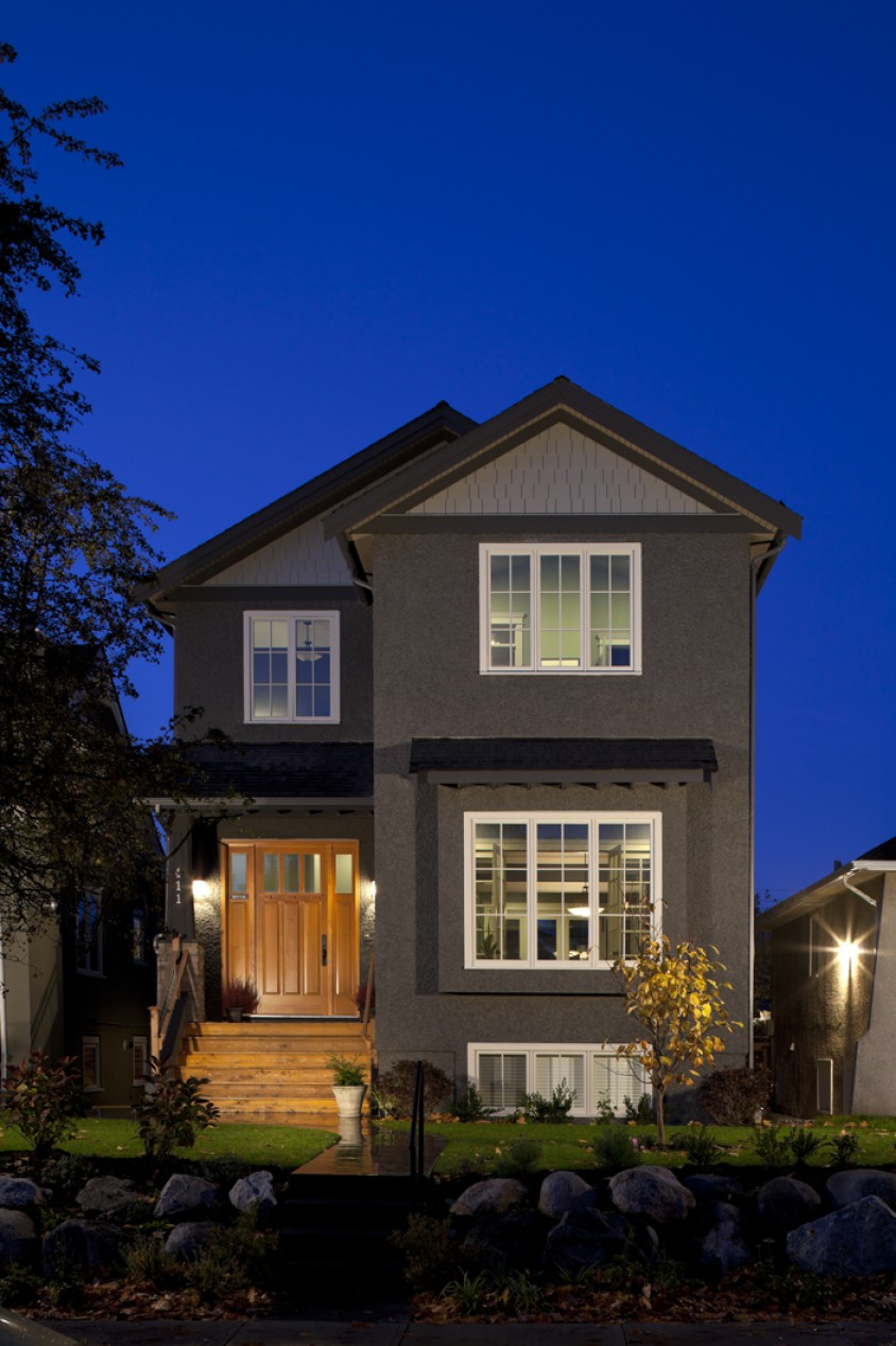West 20th, Vancouver Custom Home
