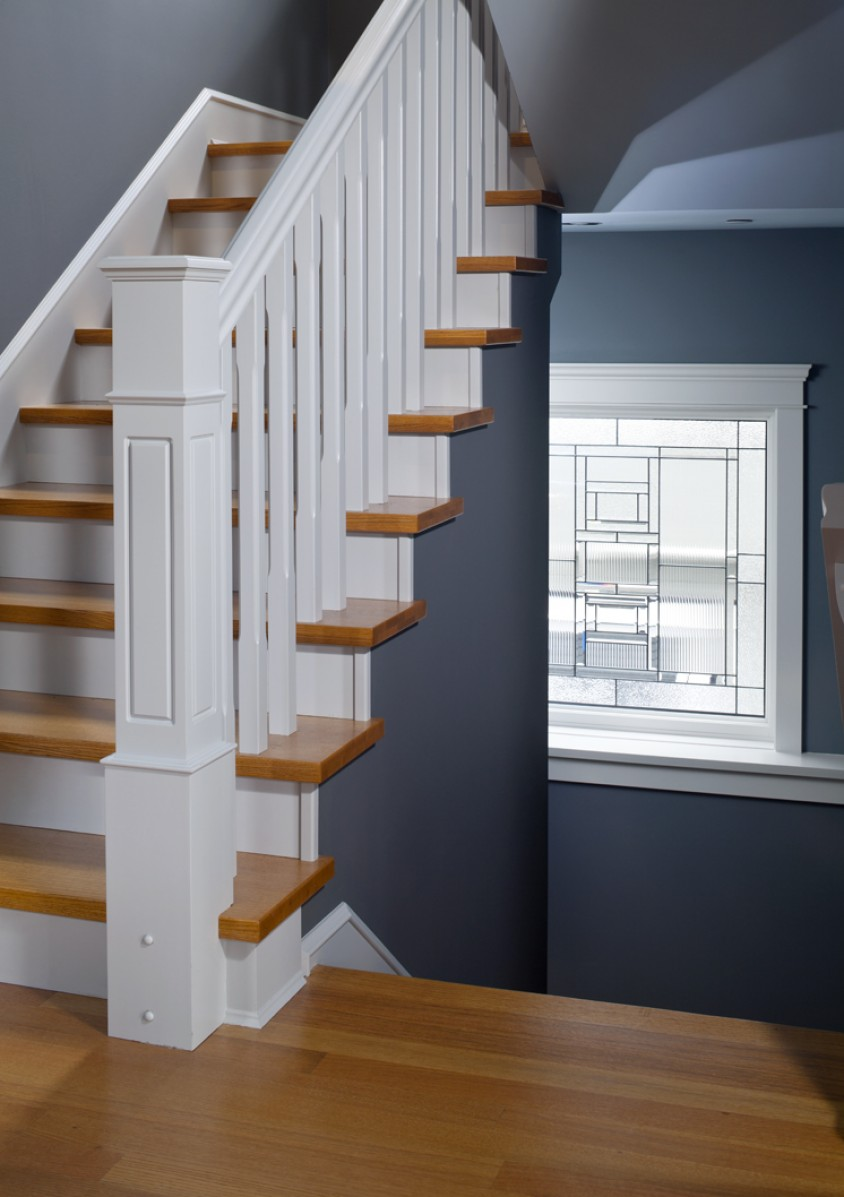 Custom built vancouver home staircase