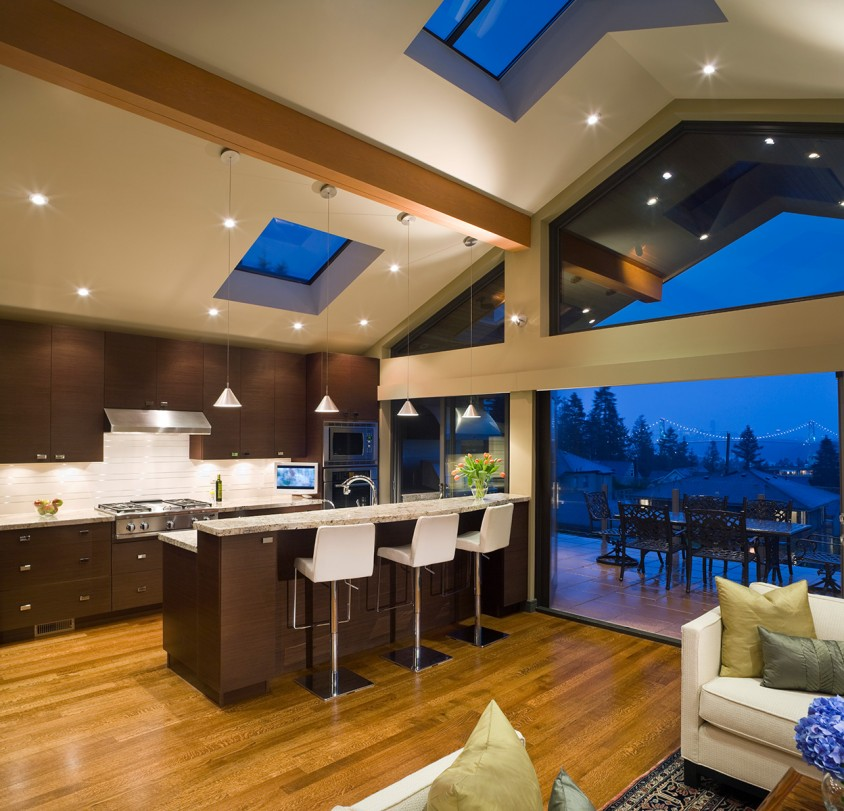 Esquimalt west vancouver custom home