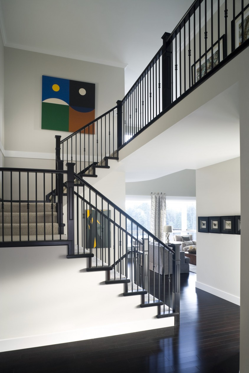 Marguerite custom built home Stairs