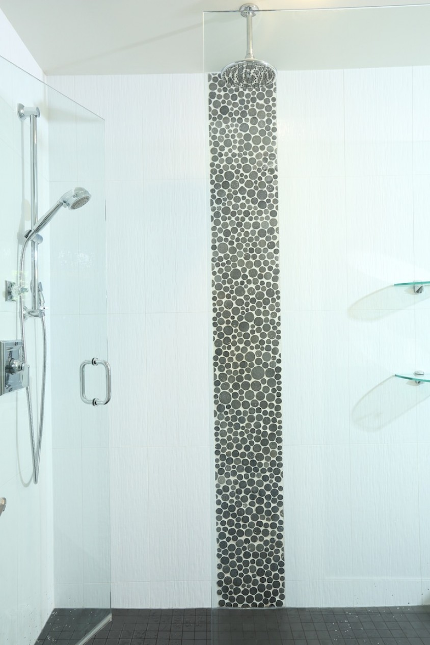 North Vancouver Custom Home Shower